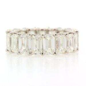 8.90 cts. emerald Cut Diamonds